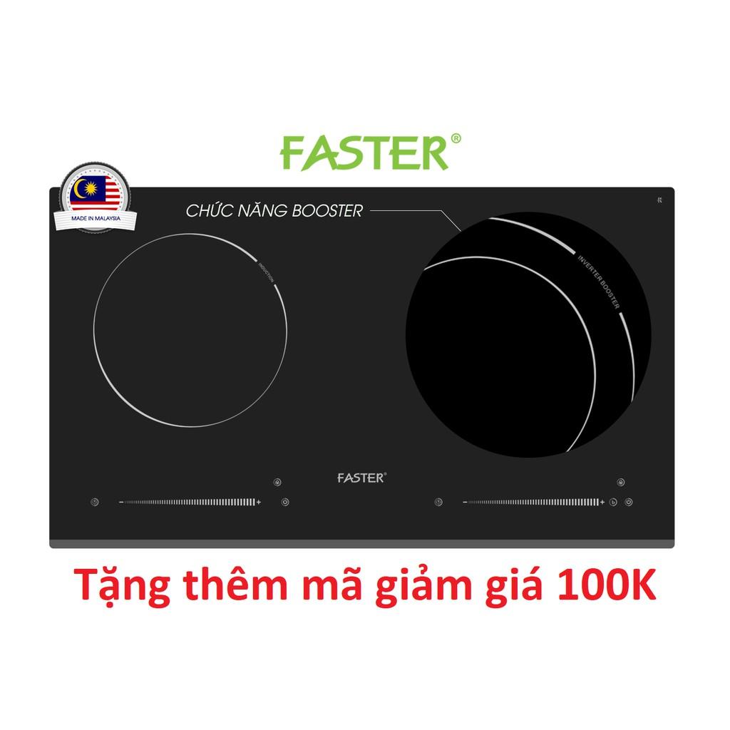 [ELHAR1TR giảm tối đa 1TR] Bếp từ Inverter Faster FS 782I nhập khẩu chính hãng Malaysia- bảo hành 2 năm
