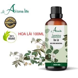 Tinh dầu nguyên chất Hoa Lài Aroma Life (10ml 50ml 100ml)