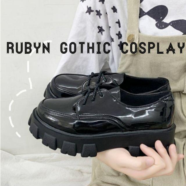 [CÓ SẴN] 🔥 Giày Boot Oxford cổ thấp cá tính ( BÓNG & NHÁM ) ( Size 35 - 40 )