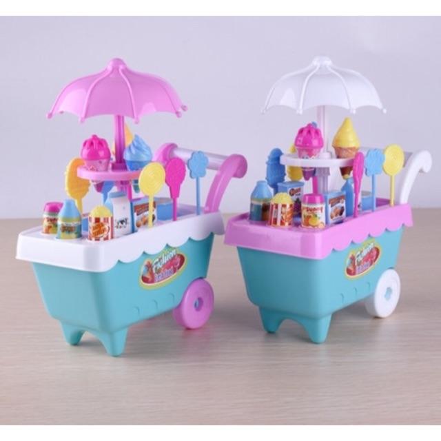 Đồ chơi xe đẩy kem