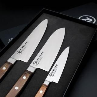 Bộ dao dao bếp cao cấp thương hiệu KATANA Essential - Dao thái thịt cá - Dao đa năng - Dao gọt hoa quả