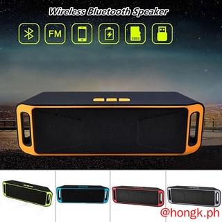 Loa Bluetooth Sc208 Có Khe Cắm Thẻ Nhớ Aux + Fm Radio + Flashdisk