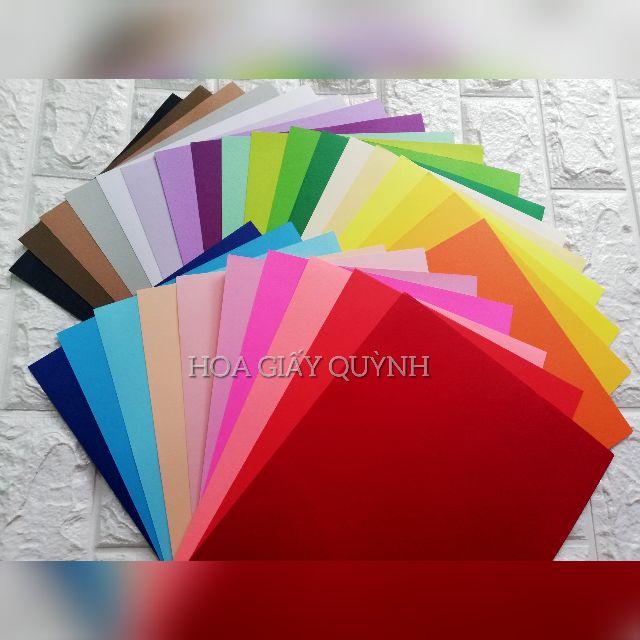 SET 50 tờ  giấy mỹ thuạtA4 120-160gsm