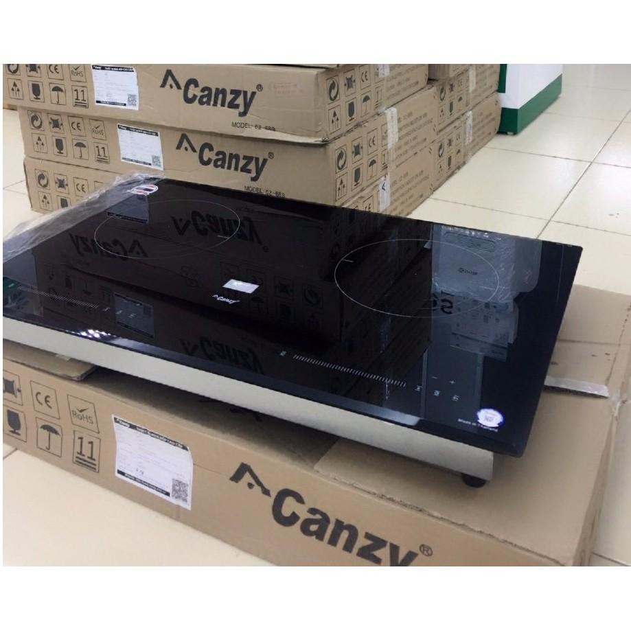 (Giá bán 3,05 triệu) Bếp điện INVERTER từ+ hồng ngoại CANZY CZ-08H, mặt kính Vitro Ceramic siêu bền, bảo hành 3 năm.