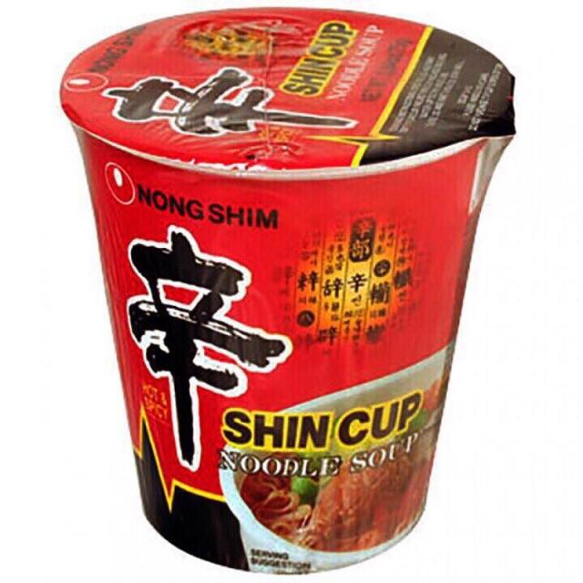 1 thùng mì ly Shin Hàn Quốc (12 ly)