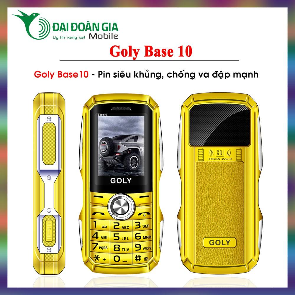 Điện thoại Goly Base 10 - Pin siêu khủng - Chống va đập - 3535174 , 1025544696 , 322_1025544696 , 437500 , Dien-thoai-Goly-Base-10-Pin-sieu-khung-Chong-va-dap-322_1025544696 , shopee.vn , Điện thoại Goly Base 10 - Pin siêu khủng - Chống va đập