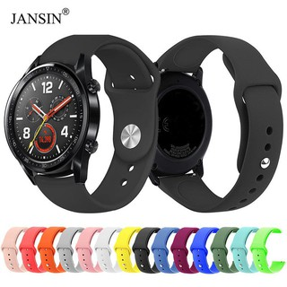 20 22mm Silicone Sport strap Huawei watch GT Samsung Galaxy S2 S3 Frontier Classic watch band