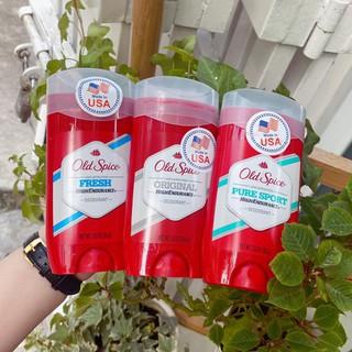 Lăn khủ mùi Old Spice Deodorant 85g (MẪU MỚI NẮP TRONG) Mỹ
