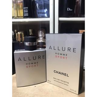 [Tiemchietnuochoa][Gốc 90/100ml Chanel Allure Homme Sport Eau de Toilette box như hình]