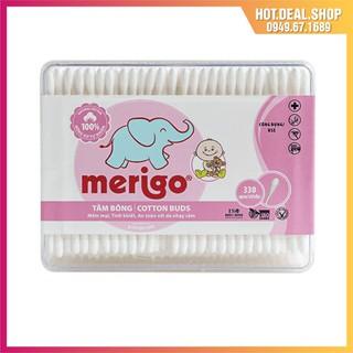Tăm bông Bạch Tuyết Merigo tiệt trùng cho trẻ em thumbnail