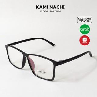 Gọng kính thời trang nam nữ KAMI NACHI dáng vuông phong cách đơn giản 2394 [CÓ THỂ LẮP TRÒNG CẬN] thumbnail