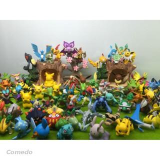 Bộ 144 con Pokemon nhựa loại 2-3cm
