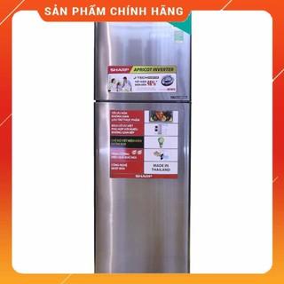 [ FREE SHIP KHU VỰC HÀ NỘI ] Tủ lạnh Sharp Inverter 271 lít SJ-X281ESL