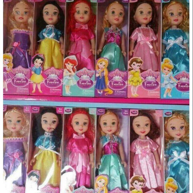 Đồ chơ set 6 búp bê công chúa