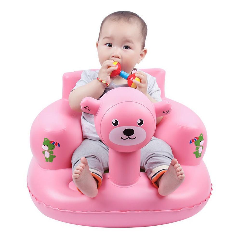 Ghế Tập Ngồi Cho Bé Ghế Hơi Baby Nhiều Mẫu Lựa Chọn