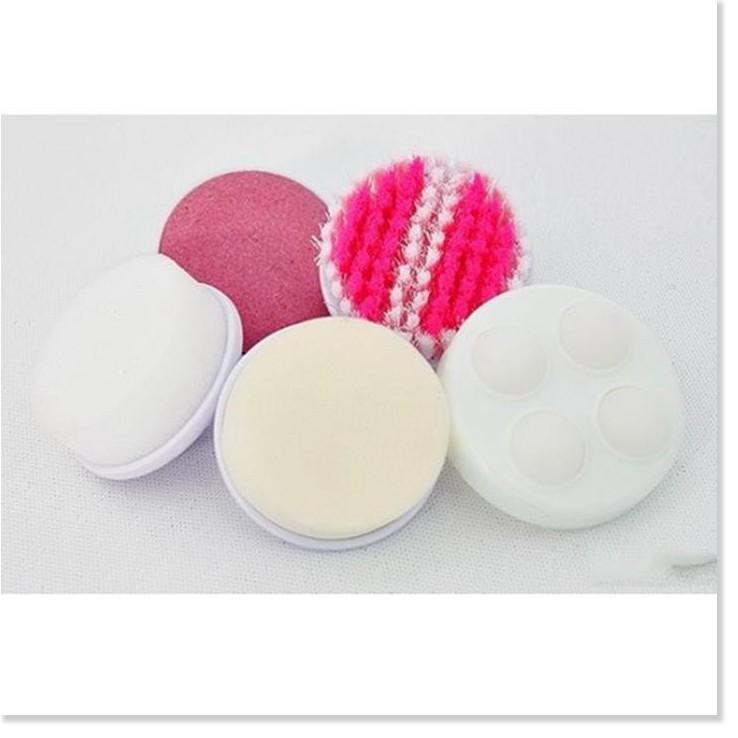 Máy rửa mặt   GIÁ VỐN]   Máy rửa mặt Beauty Care massage chăm sóc da mặt cầm tay làm cho làn da mịn màng, tươi sáng  2