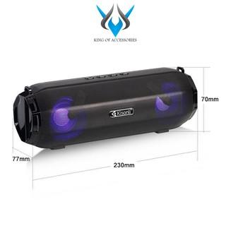 Loa bluetooth Kisonli LED-903 Hifi Speaker tích hợp đèn led, hỗ trợ kết nối cùng lúc 2 loa (Màu ngẫu nhiên)