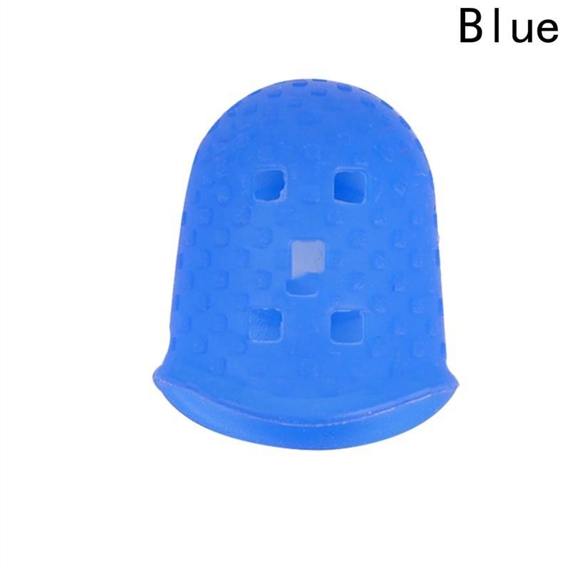 starrysky Đầu silicone bọc chống đau ngón tay khi chơi đàn guitar