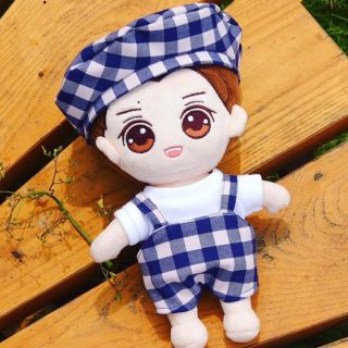 Set Caro Xanh [Oufit For Doll Kpopdoll 20cm]