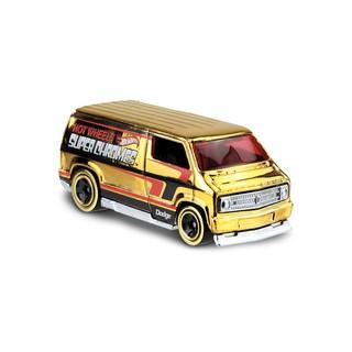 Xe mô hình Hot Wheels Custom '77 Dodge Van FYG83