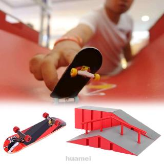 Educational Combination Extreme Sports Training Play Indoor Game Kids Toy Finger Skateboard Park Set