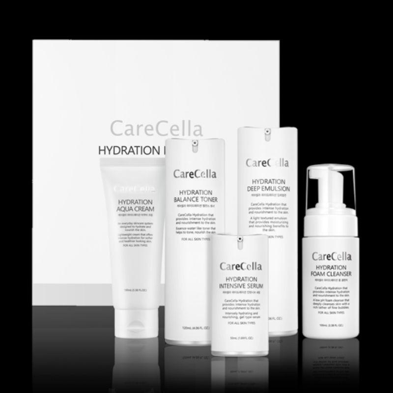 Bộ sản phẩm chăm sóc da cơ bản CareCella Hydration / CareCella Hydration Basic Set