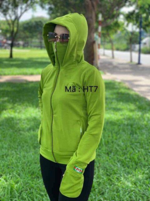 Áo khoác chống nắng mẫu mới 3 size từ 38kg-68kg