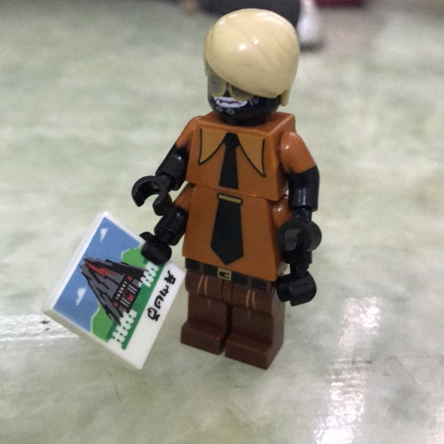 Minifigure nhân vật Flashback Garmadon