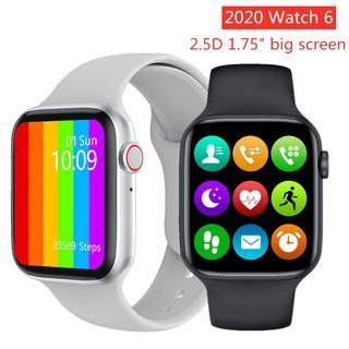 Đồng hồ thông minh Watch6 ( W6, W26 ) Seri 6 thiết kế tràn viền 1.75inch kết nối bluetooth chống nước IP68
