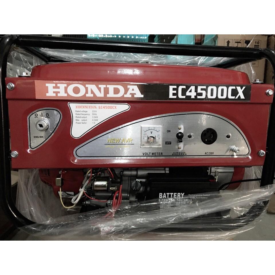 Máy phát điên Honda EC4500CX đề nổ