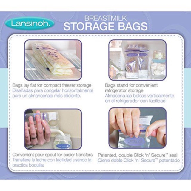 50 túi trữ sữa Lansinoh từ Mỹ - 2622344 , 889037910 , 322_889037910 , 210000 , 50-tui-tru-sua-Lansinoh-tu-My-322_889037910 , shopee.vn , 50 túi trữ sữa Lansinoh từ Mỹ