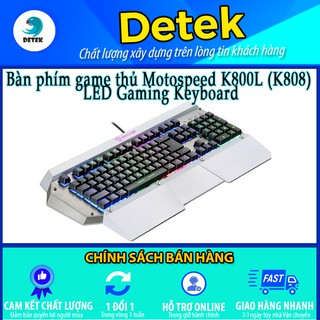 [Mã 159ELSALE hoàn 7% đơn 300K] Bàn phím game thủ Motospeed K800L (K808) LED Gaming Keyboard thumbnail