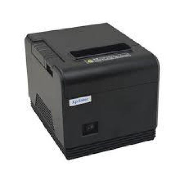 (KM 2 cuộn giấy in) Máy in hóa đơn, máy in bill Xprinter XP-Q200 HÀNG CHÍNH HÃNG