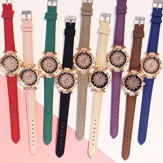 Đồng hồ thời trang nữ Candycat mặt hoa đính đá siêu đẹp F99