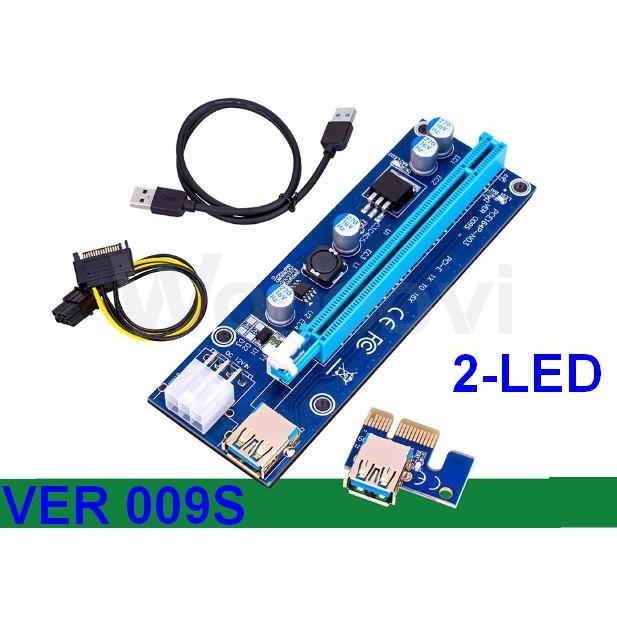 DÂY RISER PCIe 1X TO 16X USB 3.0 VER 009S - 3334967 , 881378538 , 322_881378538 , 120000 , DAY-RISER-PCIe-1X-TO-16X-USB-3.0-VER-009S-322_881378538 , shopee.vn , DÂY RISER PCIe 1X TO 16X USB 3.0 VER 009S