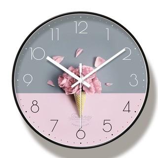 Đồng hồ treo tường Kim Trôi (Nhiều mẫu) - Hàng Loại I - Tặng kèm pin & móc treo BẢO HÀNH 12 tháng