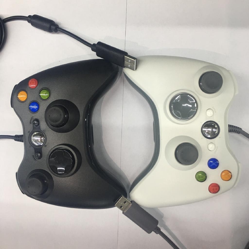 Tay Cầm Chơi Game Có Dây Cổng Usb Cho Xbox 360