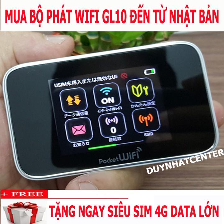 [SIÊU RẺ - SIÊU BỀN] THIẾT BỊ PHÁT WIFI TỪ SIM 3G/4G HUAWEI GL10P TỐC ĐỘ CAO - TẶNG SIM