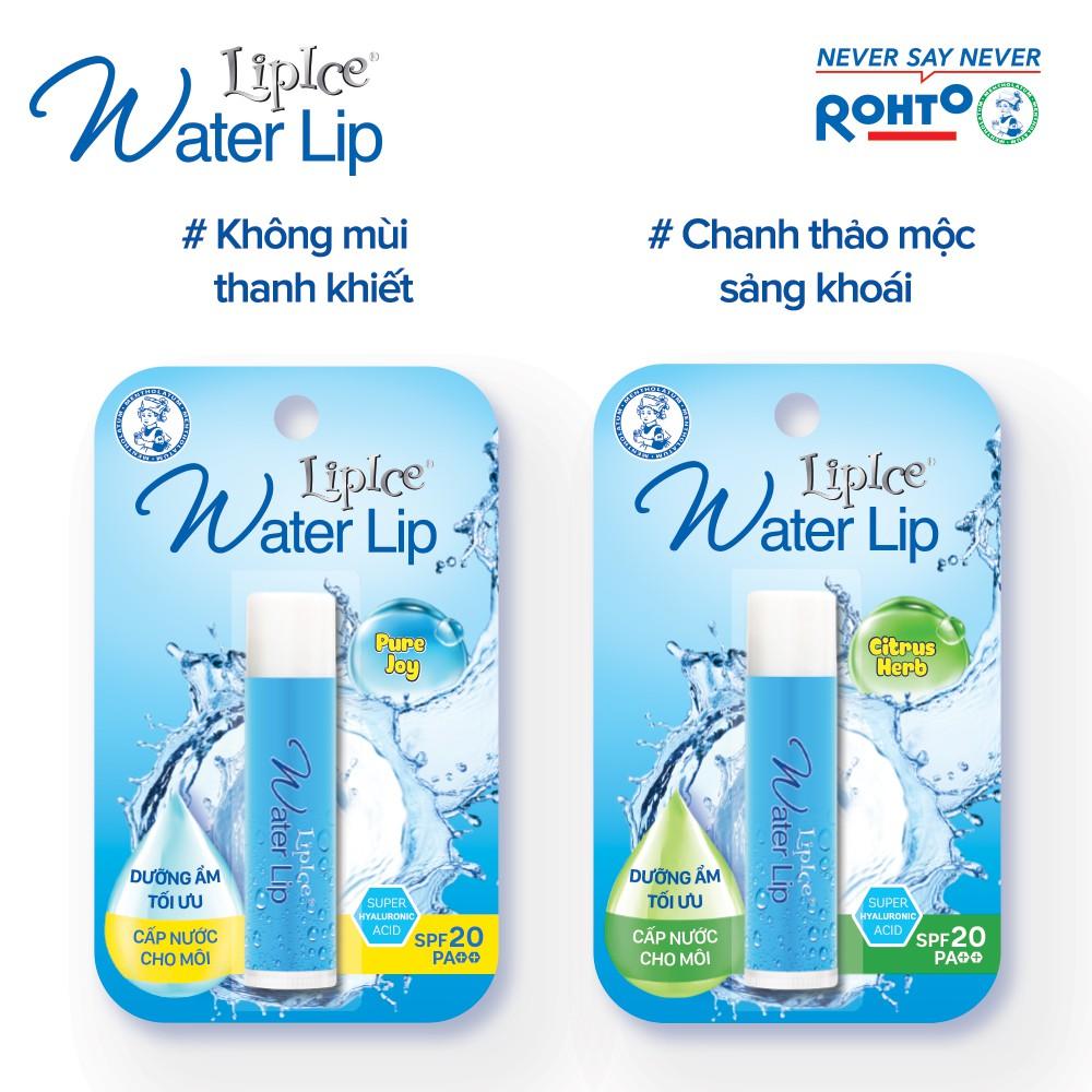 Son dưỡng không màu LipIce Water Lip 4.3g
