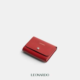 [Mã FASHIONGREEN94 giảm tới 30K đơn 99K] Ví nữ Card holder Layla da Nappa nhập khẩu thương hiệu Leonardo thumbnail