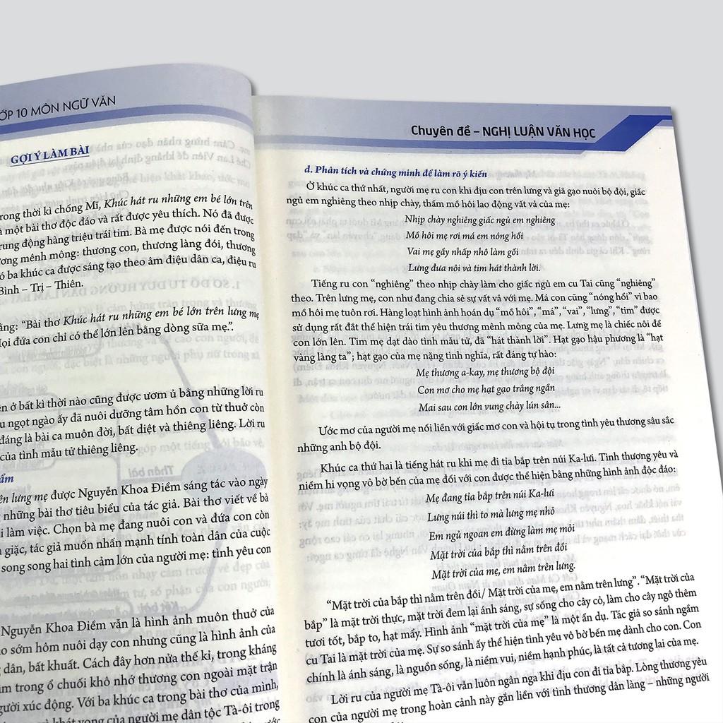 Sách - Luyện thi vào lớp 10 môn Ngữ văn (Combo 2 quyển, lẻ tùy chọn)