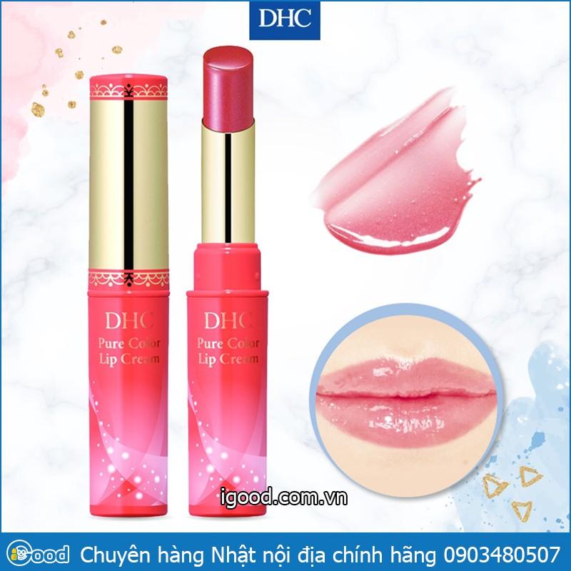 Son dưỡng DHC Pure Color Lip Cream (1.4g) Nhật