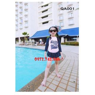 [BST 2021] Đồ bơi bé gái ,đồ bơi 1 mảnh thời trang bé gái, chất bơi lyrca Hàn đẹp chống tia UV