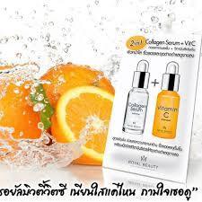 Collagen Serum + VitC ( 1 hộp 6 gói )