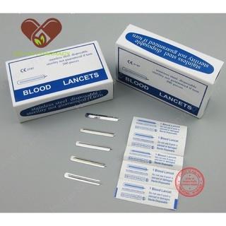Kim nặn mụn Blood Lancets tiệt trùng vô khuẩn ( Combo 10 kim) thumbnail