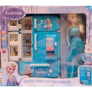 ♦️♦️ Bộ Tủ Lạnh Mini Elsa ♦️♦️ Kèm clip quay sp ♦️♦️
