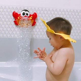 Cua Thổi Bong Bóng Có Nhạc Cho Bé – Đồ chơi phòng tắm