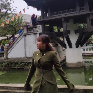 Áo măng tô nữ hàng quảng châu