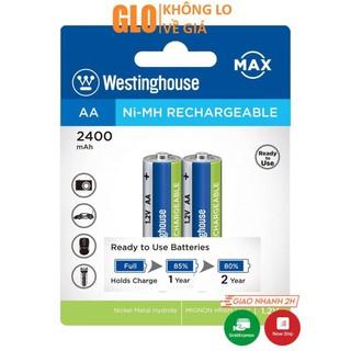 Pin AA Westinghouse 2400 Mah(Vỉ 2 Viên)