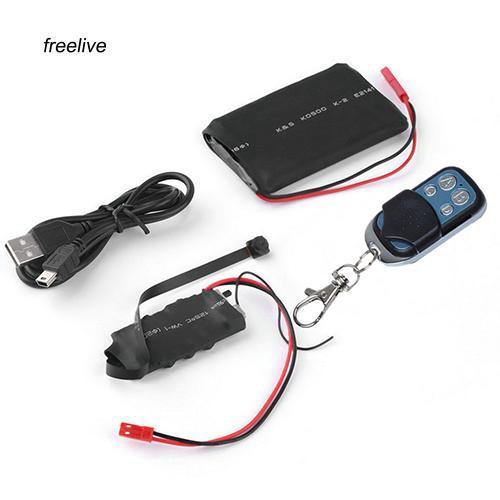 FLE_1080P HD DIY Remote Control Module SPY Hidden Camera Motion Video Mini DV DVR